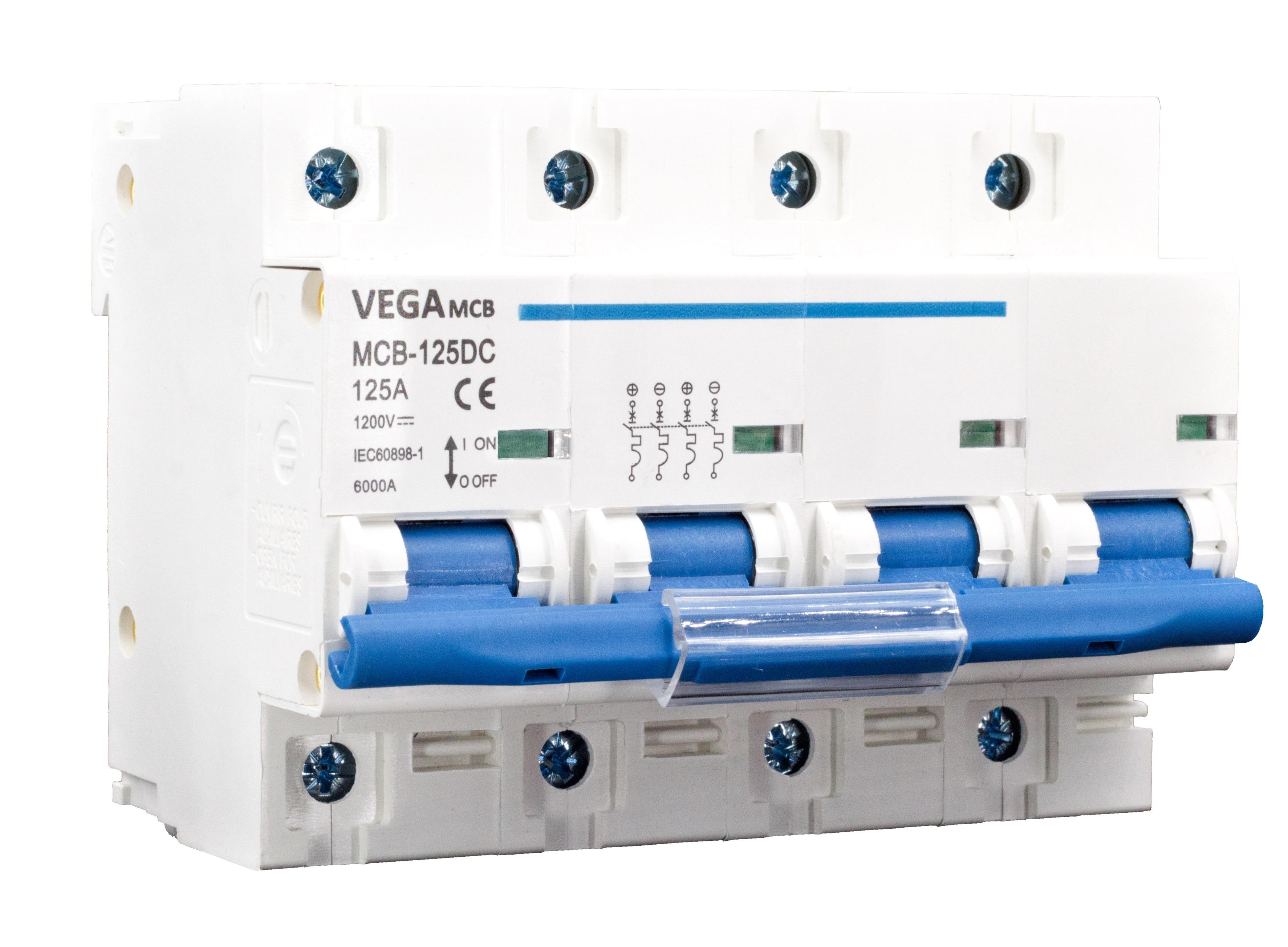 DC-Breaker / DC-Trennschalter VEGA MCB 125 - 1200V 4P 125A